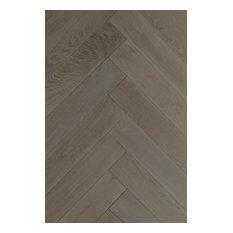 "ADM Syracuse 23-1/2""L x 4-3/4"" W European Oak Engineered Wood Floors Herringbone"