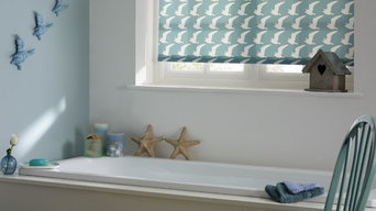 Boardwalk Teal Roller Blind