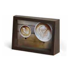 Umbra 1004215 Edge 6-1/2 Inch x 4-1/2 Inch MDF Free Standing Picture Frame