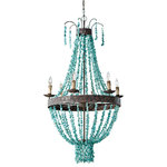 Regina Andrew Design - Beaded Turquoise Chandelier - Passion is at the core of everything that defines Regina Andrew Design. Passion for Regina Andrew Design is creating a magical experience through its diverse product lines and enchanted showroom spaces.