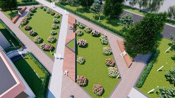Организация зеленых пространств, Тюмень