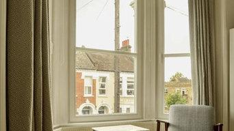 Bay window Imitation Sash 51dB noise reduction - Clapham North