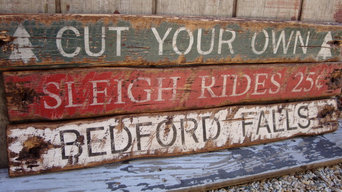 Rustic Distressed Signs