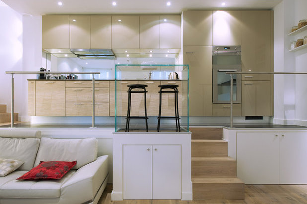 10 petites cuisines cassent les codes. Black Bedroom Furniture Sets. Home Design Ideas
