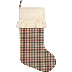 Rustic Christmas Stockings And Holders by VHC Brands