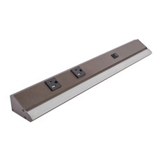 "Sempria Power Strip, 1/4 W, Internal Power, Bronze, 10.5"", 2700K"