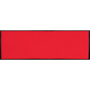 Easy Clean Red Doormat, Large