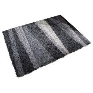 Santa Cruz Boardwalk Rug, Grey, 80x150 cm