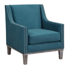 Aster Accent Chair, Teal