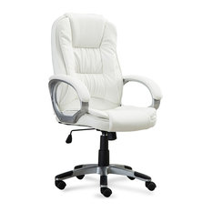 Belleze Ergonomic Office Chair White Chairs