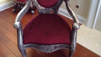 Open Arm chair restoration