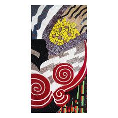 Mozaico - The Abstract Mural Mosaic Design - Tile Murals
