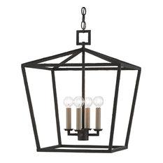 Denison Black Medium Lantern