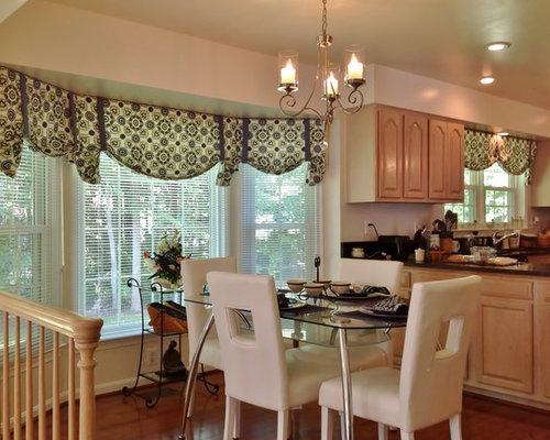 bay window treatment golden interiors window treatments - Custom Window Treatments