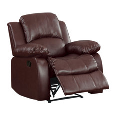 Center Hill Reclining Sofa Collection Brown Chair