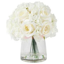Contemporary Artificial Flower Arrangements by Trademark Global