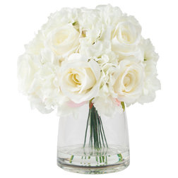 Contemporary Artificial Flower Arrangements by Trademark Global
