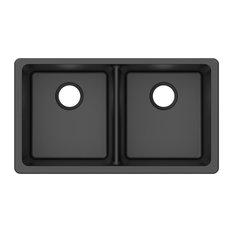 contemporary kitchen sinks | houzz