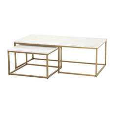 Orient Express Furniture   Carrera Nesting Coffee Table   Coffee Tables
