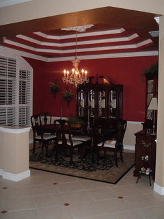 how to paint tray ceilings with color. Black Bedroom Furniture Sets. Home Design Ideas