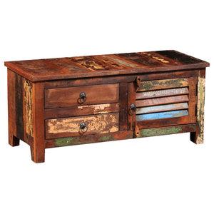 VidaXL Reclaimed Solid Wood Hi-Fi Cabinet