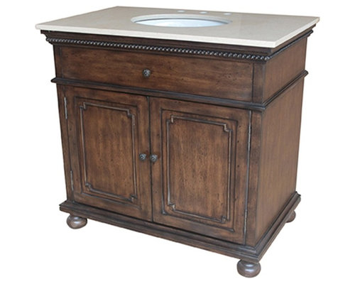 bathroom vanity cherry brown finish bathroom vanities and sink