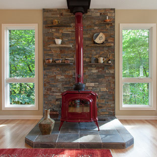Ordinaire Wood Stove Hearth | Houzz