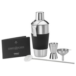 Contemporary Cocktail Shakers And Bar Tool Sets by Almo Fulfillment Services