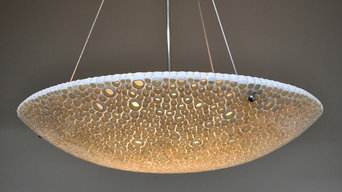 Lucia Lighting & Design ~ Custom Blown Glass Lighting