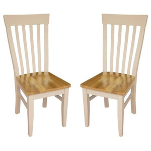 Julia Curved Dining Chairs, Set of 2