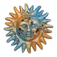 Old World Clay Garden Sun