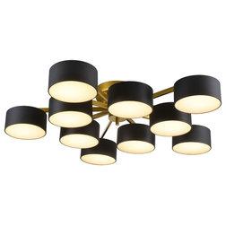 Contemporary Flush-mount Ceiling Lighting by Design Living