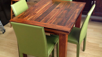 """Teak Dining Table, 36"""" x 48"""", 2"""" thick"""