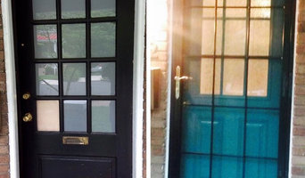 Security Storm Doors- Before and After