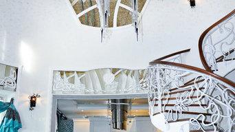 Зеркальные изделия по проекту Ольги Рыхловой