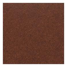 Adhered Floor Tiles Solid Cork Flooring, Terracotta