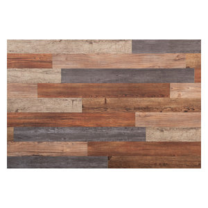 E-Z Wall Peel and Press Assorted Wall Planks