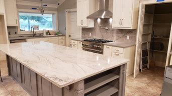 Exotic Infinity Desert Quartzite Kitchen