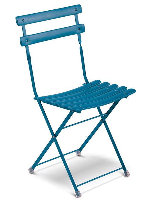 Arc En Ciel Klappstol, Blå - Udendørs spisebordsstole