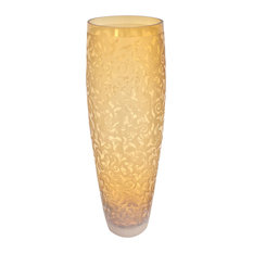 Cabos Glass Vase, Amber