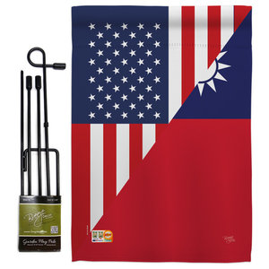Us Scotland Friendship Flags Of The World Garden Flag Contemporary Flags And Flagpoles By Breeze Decor