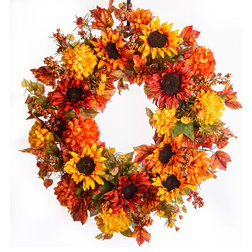 Farmhouse Wreaths And Garlands by Darby Creek Trading