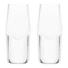 Raye Heavyweight Crystal Shot Glasses, Set of 2