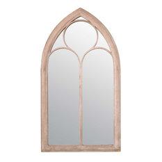 Somerley Chapel Window Wall Mirror, 60x115 cm