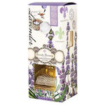 """Michel Design Works - Michel Design Works Home Fragrance Diffuser 7.7oz, Lavender Rosemary - Michel Design Works Home Fragrance Diffuser 7.7 Oz. - Lavender Rosemary has a subtle scent that welcomes guests and enhances the mood of any room. Eight reeds and the elegant glass decanter are packed in a window gift box. Approximate size 3-3/4""""  x 3-3/4"""" X 9-1/2 H when boxed."""