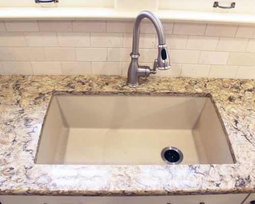 Century Home White Kitchen Remodel ~ Akron, OH - Kitchen Sinks