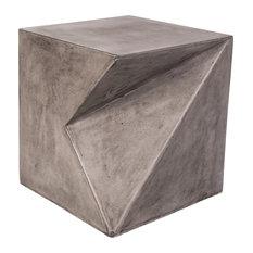 Modrest Bryn Modern Concrete Stool