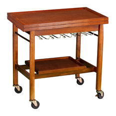 Holly and Martin Karymore Adjustable Kitchen Cart With Storage