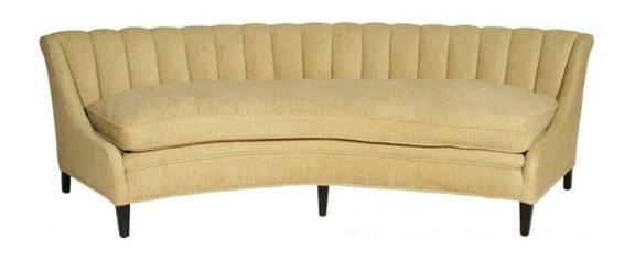Glamorous Hollywood Regency Sofa