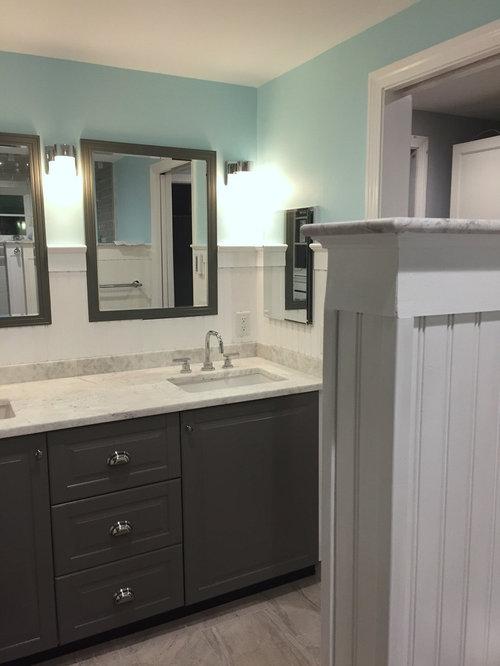 New Bath W Ikea Sektion Cabinets Image
